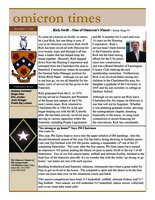 2005 Fall Newsletter Omicron (University of Virginia)