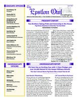 2007 April Newsletter Epsilon (University of North Carolina)