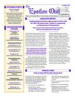2007 October Newsletter Epsilon (University of North Carolina)