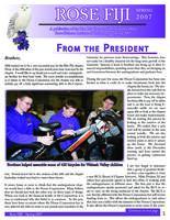2007 Spring Newsletter Rho Phi (Rose-Hulman)
