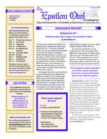 2009 October Newsletter Epsilon (University of North Carolina)