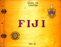 1961-1965 Scrapbook from the Sigma Nu Chapter at Syracuse University