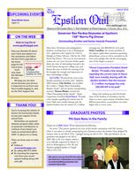 2010 March Newsletter Epsilon (University of North Carolina)