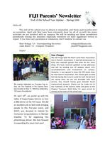 2010 Spring Newsletter Chi Iota (University of Illinois) - Parents Newsletter...