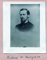 1859 - Richard W. Hargrave (DePauw University 1859)