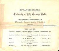 1874 Convention Program