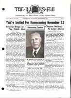 1954 November Newsletter Chi Iota (University of Illinois)