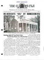 1955 October Newsletter Chi Iota (University of Illinois)