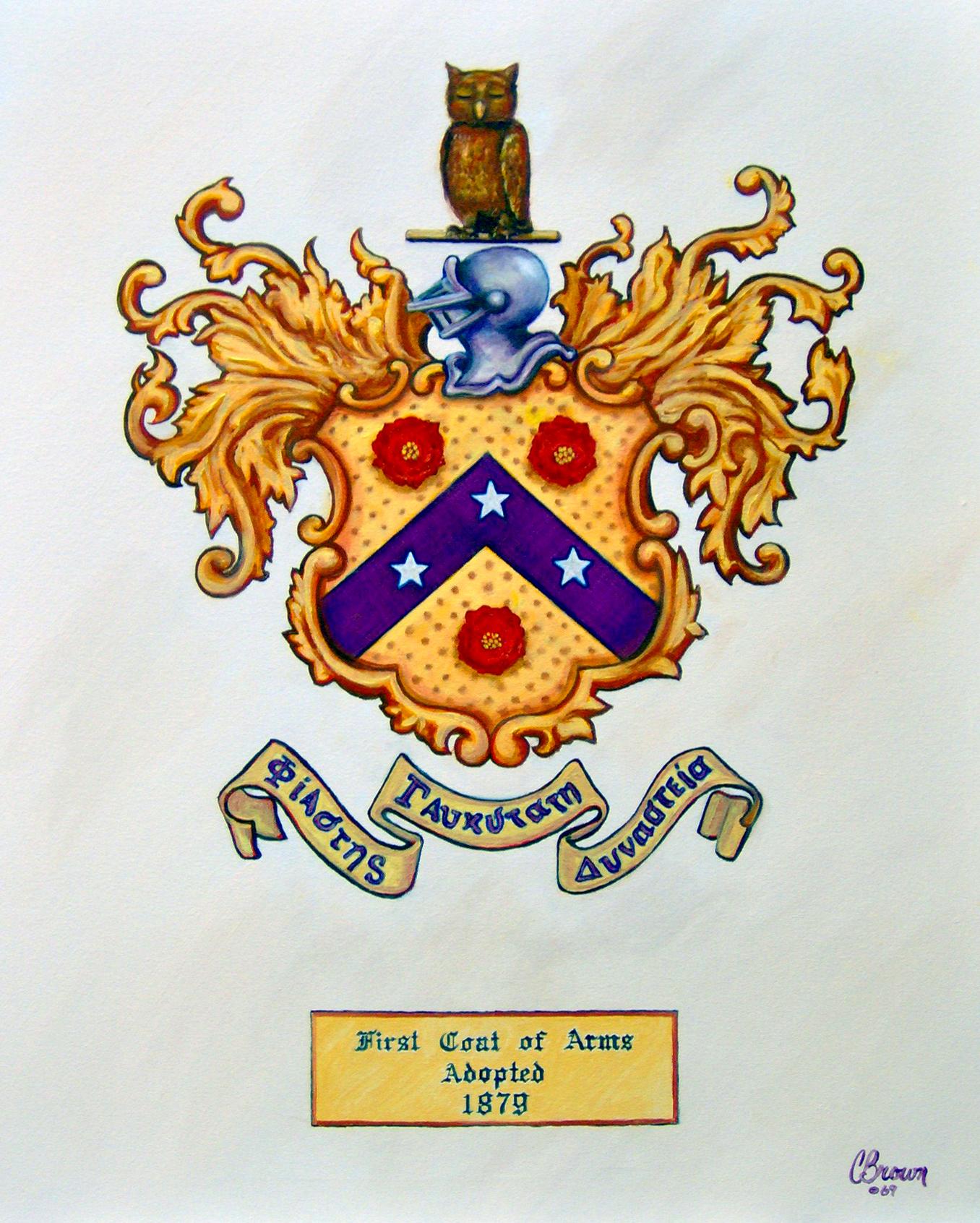 1879 Coat Of Arms Color Phi Gamma Delta Digital Repository