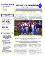 2008 March Newsletter Lambda Iota (Purdue University)