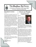 2008 Spring Newsletter Upsilon Kappa (University of Kentucky)