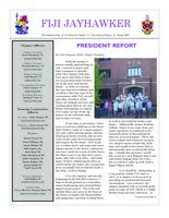 2009 Spring Newsletter Pi Deuteron (University of Kansas)