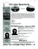 2008 March Newsletter Chi Iota (University of Illinois)