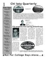 2009 Spring Newsletter Chi Iota (University of Illinois)