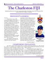 2010 Spring Newsletter Delta Colony (College of Charleston)