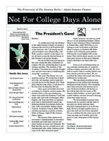 2011 Summer Newsletter Alpha Gamma (Kettering University)