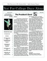 2011 Winter Newsletter Alpha Gamma (Kettering University)