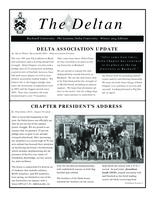 2014 Winter Newsletter Delta (Bucknell University)