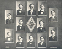 1898 Hanover College - Tau Chapter Composite