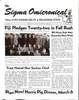 1964 November Newsletter Sigma Omicron (Oklahoma State University)