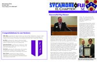 2014 Summer Newsletter Iota Sigma (Indiana State University)