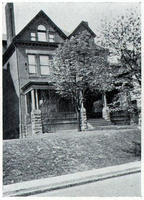 1916 Pi Sigma Chapter House at University of Pittsburgh