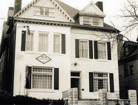 1968 Pi Sigma Chapter House at University of Pittsburgh