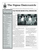 2008 Fall Newsletter Sigma Omicron (Oklahoma State University)