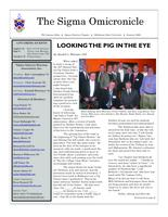 2008 Summer Newsletter Sigma Omicron (Oklahoma State University)