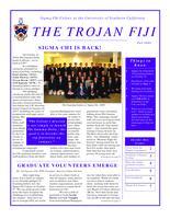 2009 Fall Newsletter Sigma Chi (University of Southern California)