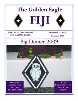2009 Fall Newsletter Theta Tau (Tennessee Technological University)