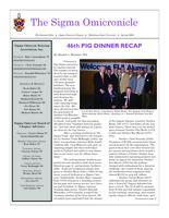 2009 Spring Newsletter Sigma Omicron (Oklahoma State University)
