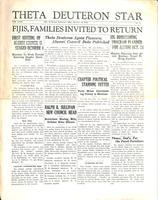 1931 October Newsletter Theta Deuteron (Ohio Wesleyan University)