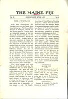 1909 April Newsletter Omega Mu (University of Maine)