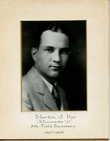 Field Secretary 008 - Martin J. Her (University of Minnesota 1927)