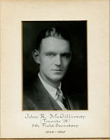 Field Secretary 009 - John R. McGillivray (University of Toronto 1928)