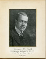 Field Secretary 003 - Horace E. Hall (Colorado College 1914, Massachusetts Institute...