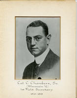 Field Secretary 001 - Cal C. Chambers, Sr. (University of Wisconsin 1912)