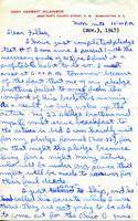 1947-11-03 Gary Wilkinson (Ohio Wesleyan University 1951) Letter