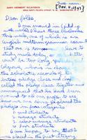 1947-11-11 Gary Wilkinson (Ohio Wesleyan University 1951) Letter