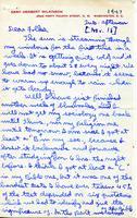 1947-11-18 Gary Wilkinson (Ohio Wesleyan University 1951) Letter
