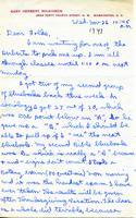 1947-11-26 Gary Wilkinson (Ohio Wesleyan University 1951) Letter