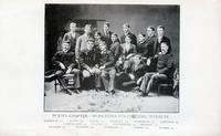 1892 Group Picture of the Pi Iota Chapter at WPI Founders