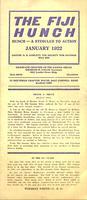 1922 January Newsletter Xi Deuteron (Case Western Reserve University)
