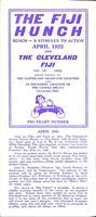 1922 Newsletter Xi Deuteron (Case Western Reserve University)