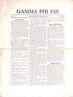 1905 November Newsletter Gamma Phi (Pennsylvania State University)