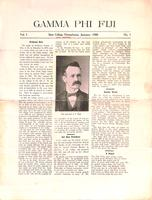 1908 January Newsletter Gamma Phi (Pennsylvania State University)
