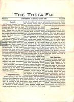 1908 March Newsletter Theta (University of Alabama)