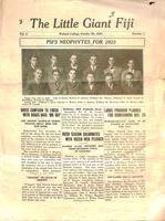 1923 October 20 Newsletter Psi (Wabash College)
