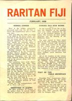 1930 February Newsletter Nu Beta (Rutgers University)